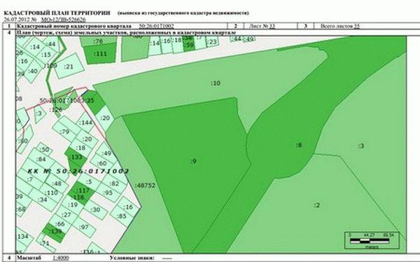 Что из себя представляет ситуационный план земельного участка